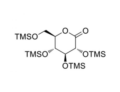 (3R,4S,5R,6R)-3,4,5-tris((trimethylsilyl)oxy)-6-(((trimethylsilyl)oxy)methyl)tetrahydro-2H-pyran-2-one